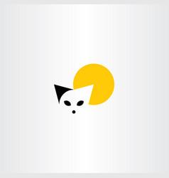 cat logo symbol icon clip art vector image