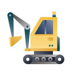 Excavator gradient vector