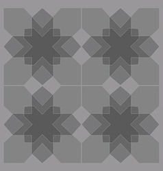 Geometric stars vector