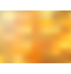 Golden blurred abstract bright background vector