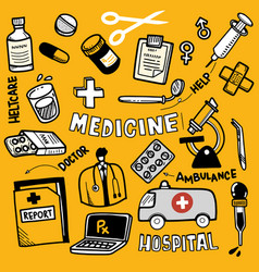 Medical icon set line icons icon set vector