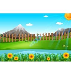 A beautiful environment vector image