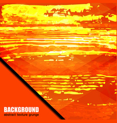 background texture orange vector image