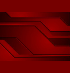 Dark red abstract corporate material background vector