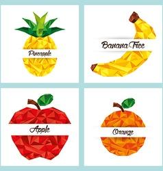 delicious fruit vector image