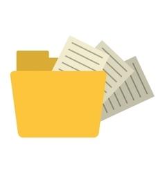Folder file document information vector