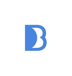 Luxury logotype premium letter b logo with modern vector