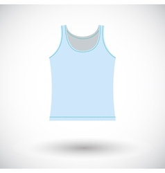 Singlet single icon vector image
