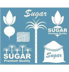 Sugar Icon vector