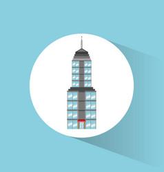 building landmark travel icon vector image