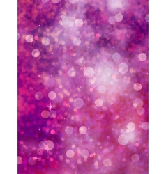 Defocused purple lights glitter EPS 10 vector image vector image