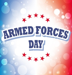 Armed forces day america banner 2 vector