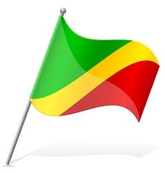 flag of Congo vector image vector image