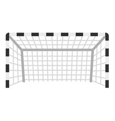 Football or soccer gate icon isolated vector