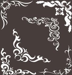 pattern for frame vector image