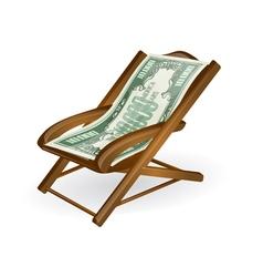 Pension concept vector