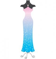fashion dress vector image vector image