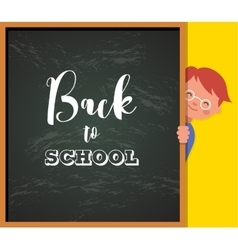 back to school - education creativity vector image
