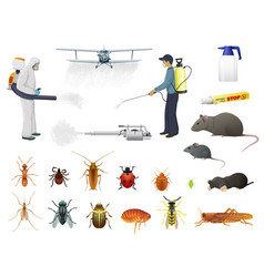 Disinfection pest control insects extermination vector
