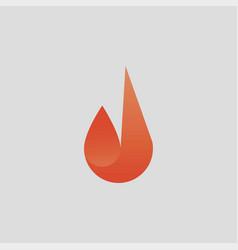Fire logo icon inspiration vector