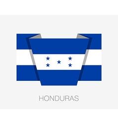 Flag of Honduras Flat Icon vector