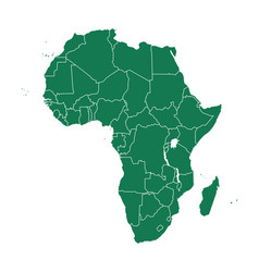 map africa vector image