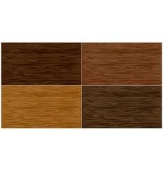 Set wood patterns vector image