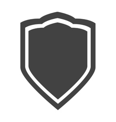 shield protection insignia security privacy vector image