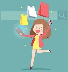 ShoppingOnline vector
