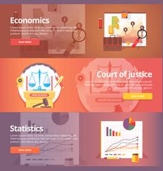 Social science economics political economy vector