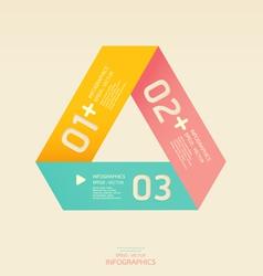 Modern soft color Design template vector image vector image