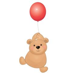 bear balloon vector image