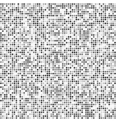Abstract seamless pattern with gray stars on white vector image