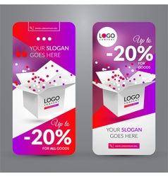 Big sale event vector