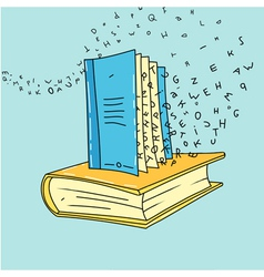 Book art vector
