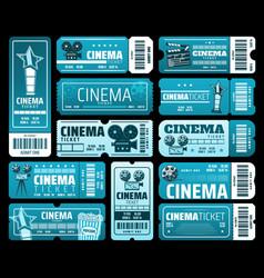 cinematography movie festival cinema tickets vector image