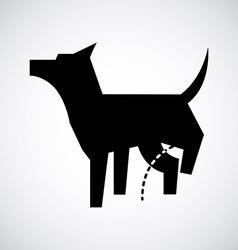 Dog design vector