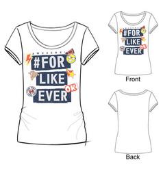 font composition for t shirt design vector image