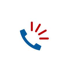 loud call logo icon design vector image