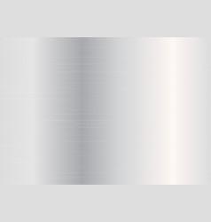 Metallic silver gradient vector