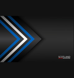 Modern colorful arrows with scotch colors and vector