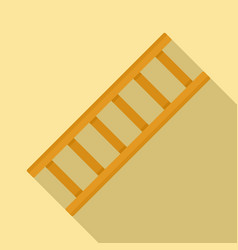 Repair ladder icon flat style vector