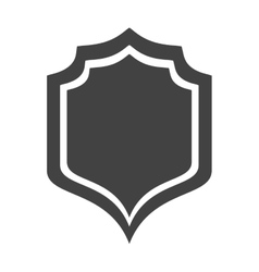 shield protection insignia security premium vector image
