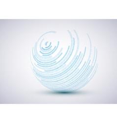 Sphere background vector