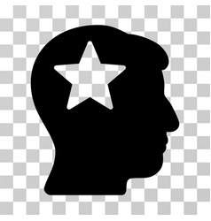 star head icon vector image