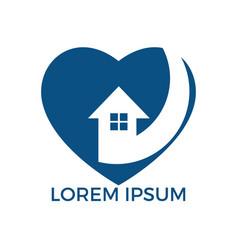 Sweet home logo design vector