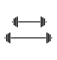 weights icon sign o vector image