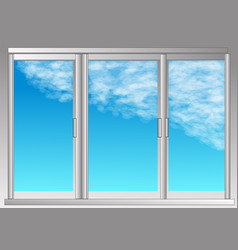 Window and sky vector
