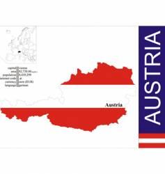 Austria vector image vector image