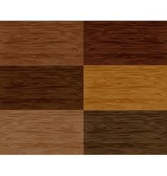 Set wood seamless patterns vector image vector image
